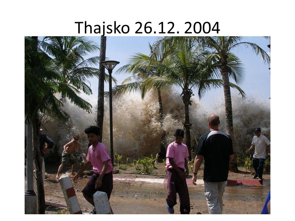 Thajsko 26.12. 2004