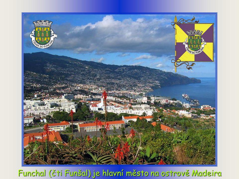 Madeira je portugalské souostroví v Atlantském oceánu (580 km západně od Maroka v Africe a 980 km jihozápadně od Lisabonu v Portugalsku) se statusem a