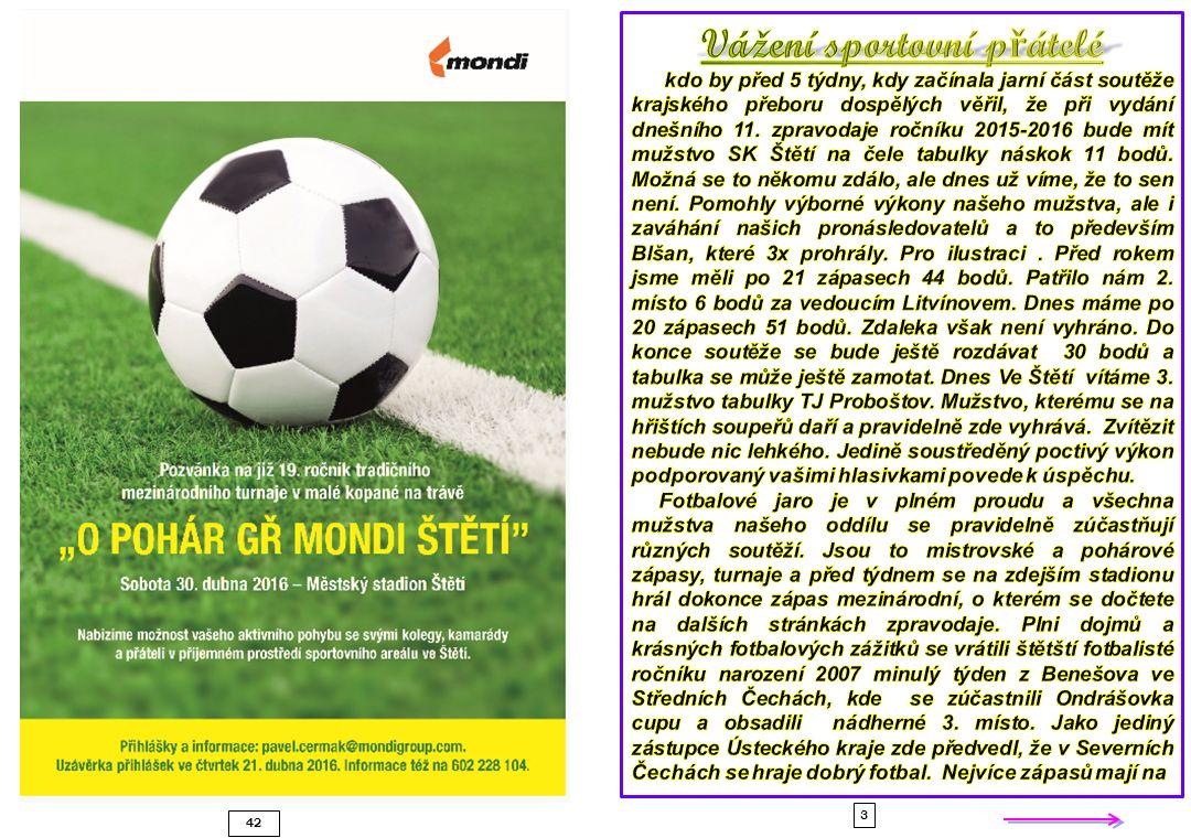 14 31 SK Hrobce - TJ Srbice 3:4(2:1) PK domácí 3x vedli, ale hosté vždy vyrovnali.