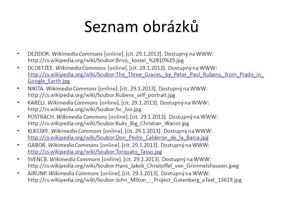 Seznam obrázků DEZIDOR.Wikimedia Commons [online].