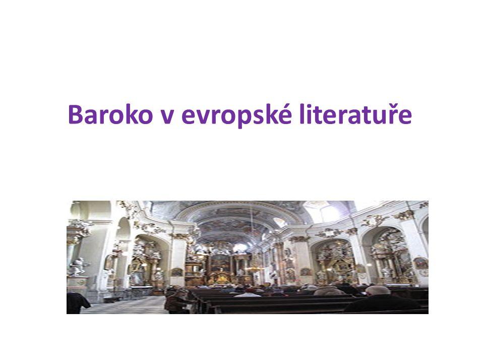 Baroko v evropské literatuře