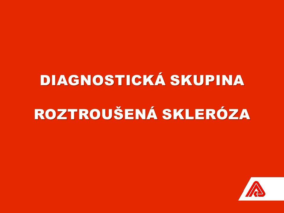 DIAGNOSTICKÁ SKUPINA ROZTROUŠENÁ SKLERÓZA
