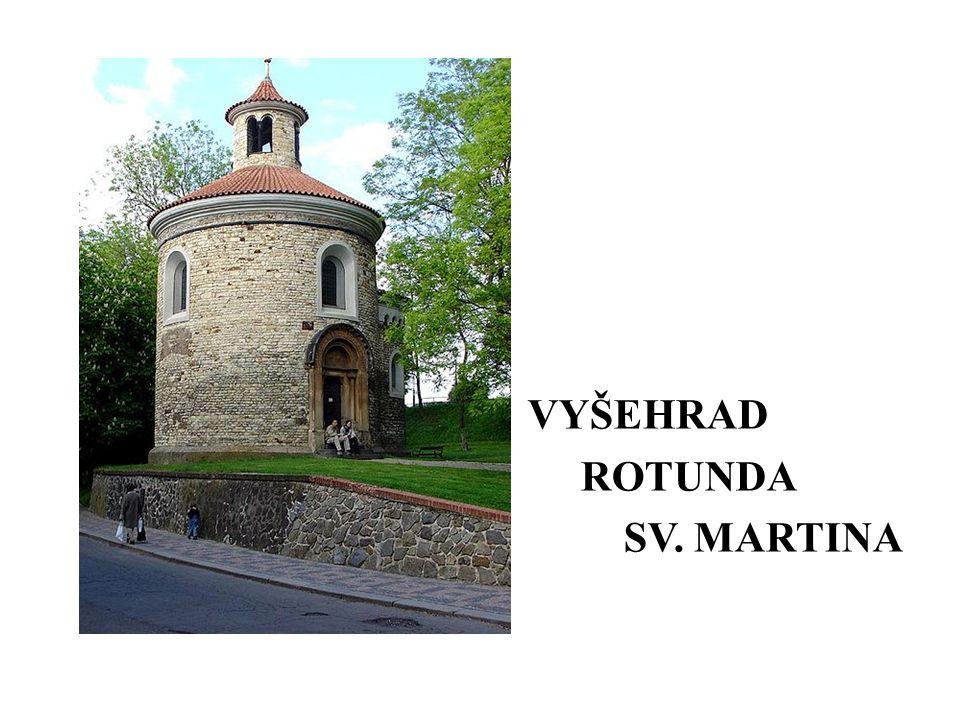 VYŠEHRAD ROTUNDA SV. MARTINA