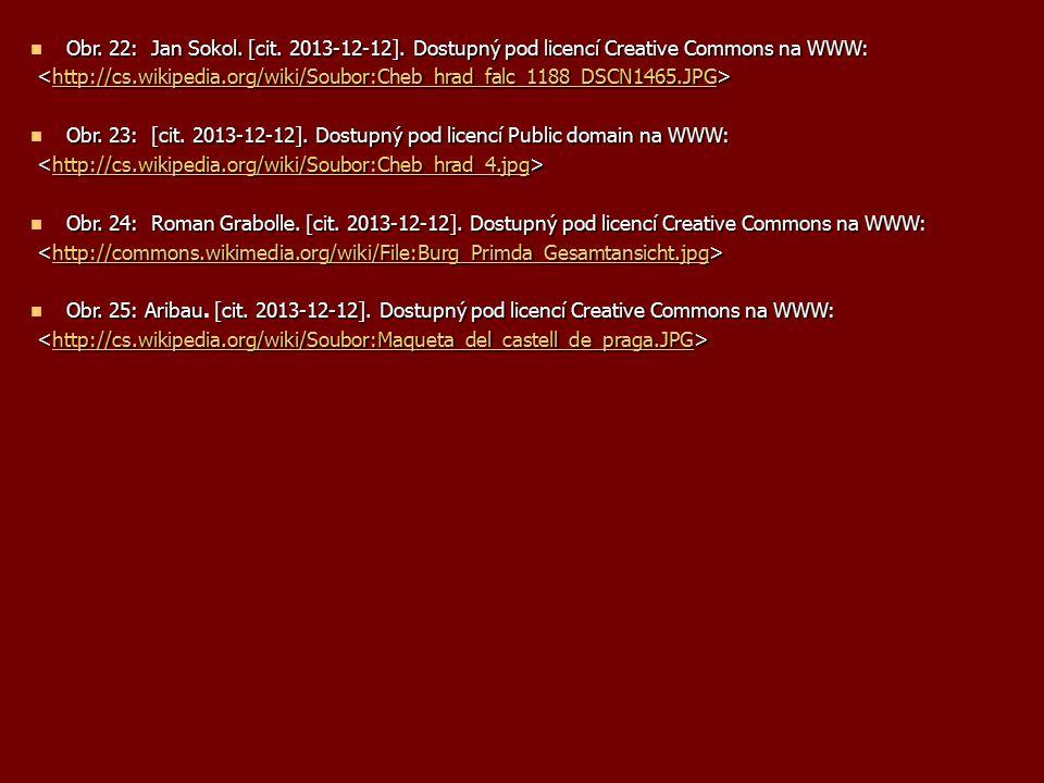 Obr. 22: Jan Sokol.[cit. 2013-12-12]. Dostupný pod licencí Creative Commons na WWW: Obr. 22: Jan Sokol. [cit. 2013-12-12]. Dostupný pod licencí Creati
