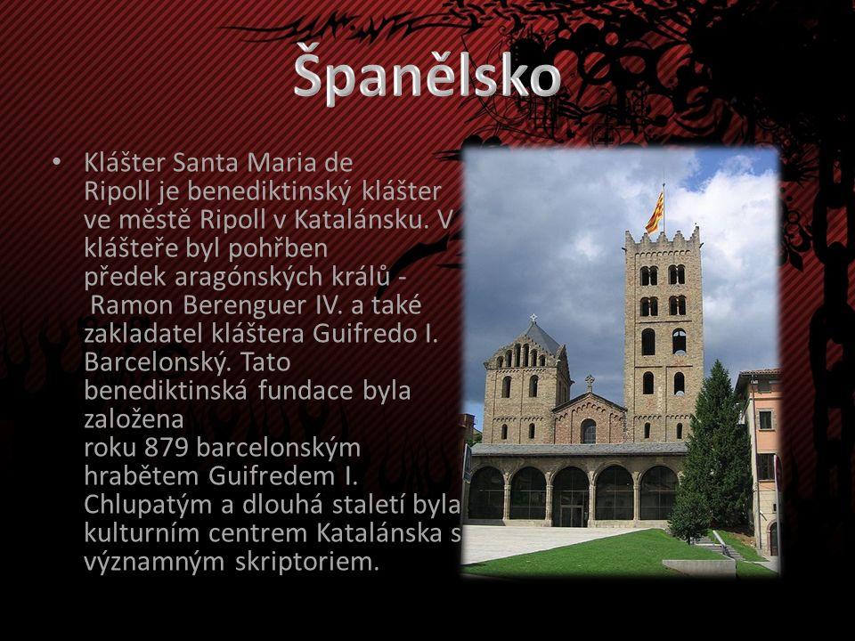 Klášter Santa Maria de Ripoll je benediktinský klášter ve městě Ripoll v Katalánsku.