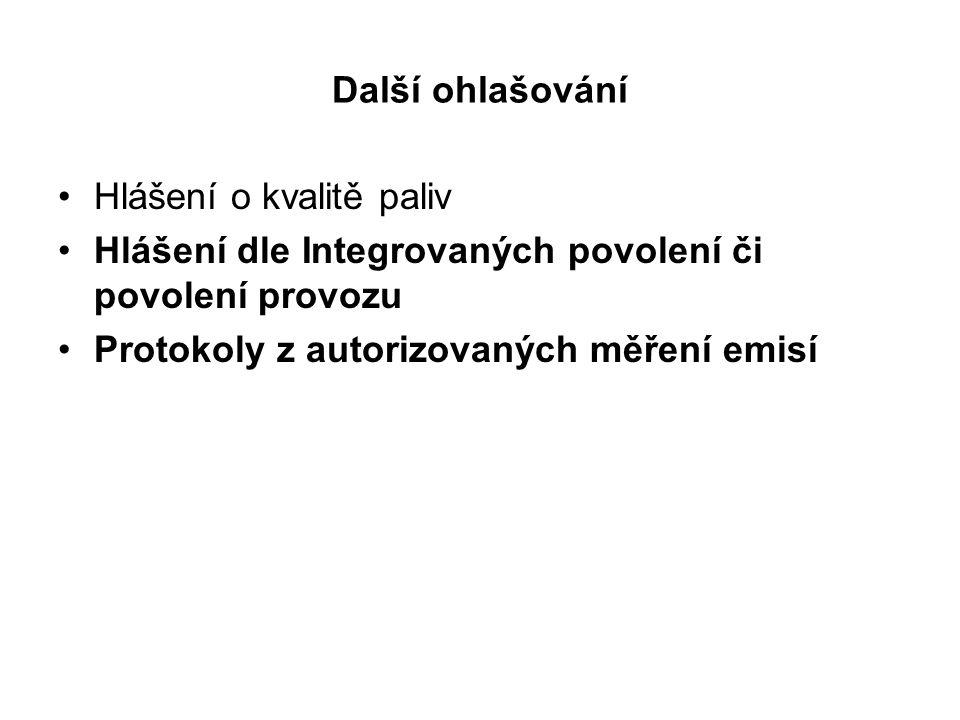 Poplatkové přiznání Pro zdroje neuvedené v příloze č.