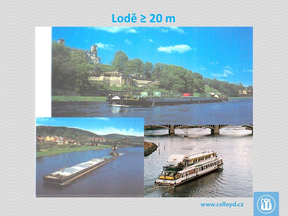 Lodě ≥ 20 m