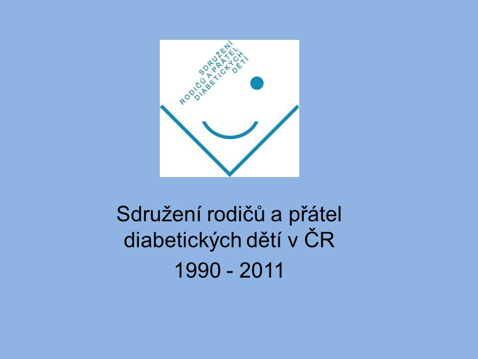 Sdružení rodičů a přátel diabetických dětí v ČR 1990 - 2011