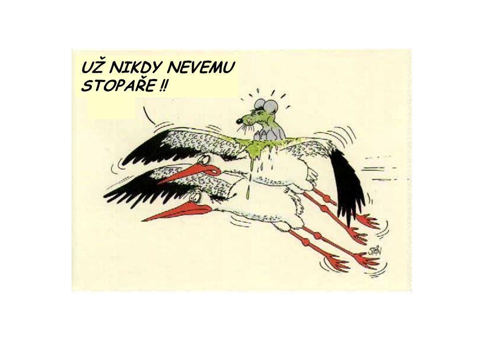 UŽ NIKDY NEVEMU STOPAŘE !! nnnn
