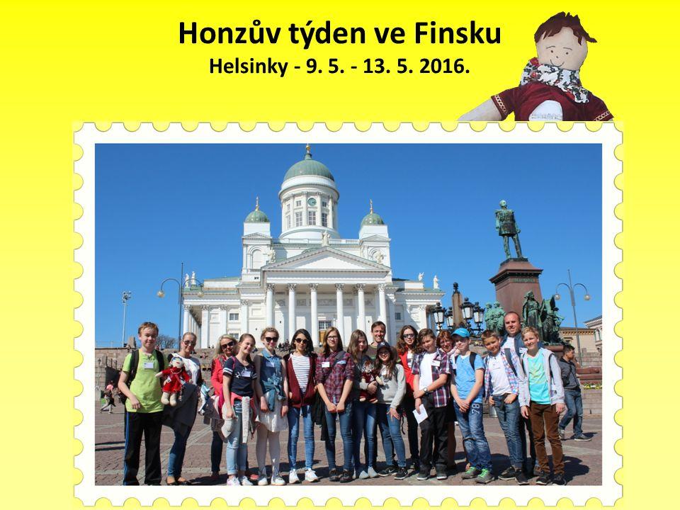 Honzův týden ve Finsku Helsinky - 9. 5. - 13. 5. 2016.