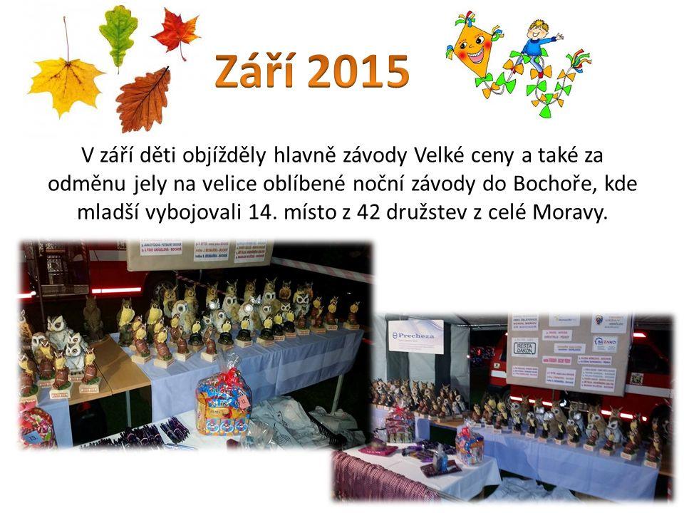 3.října se pořádalo 1. kolo hry Plamen ve Vysoké.