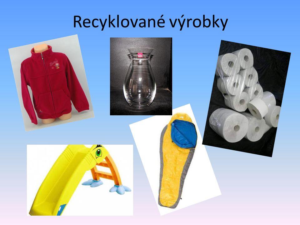 Recyklované výrobky