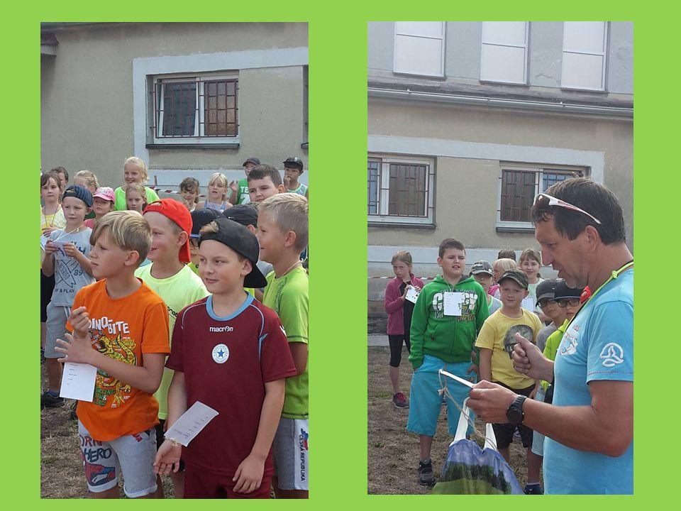 Poprvé se také zúčastnili školní olympiády naši noví prvňáčci