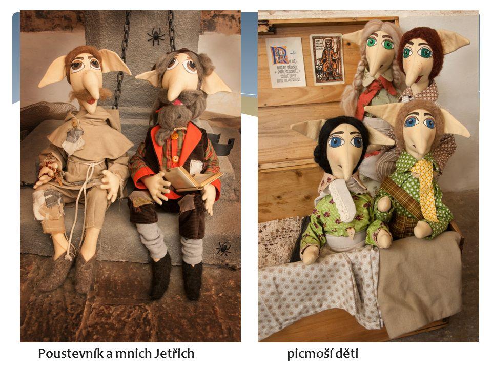 Poustevník a mnich Jetřich picmoší děti