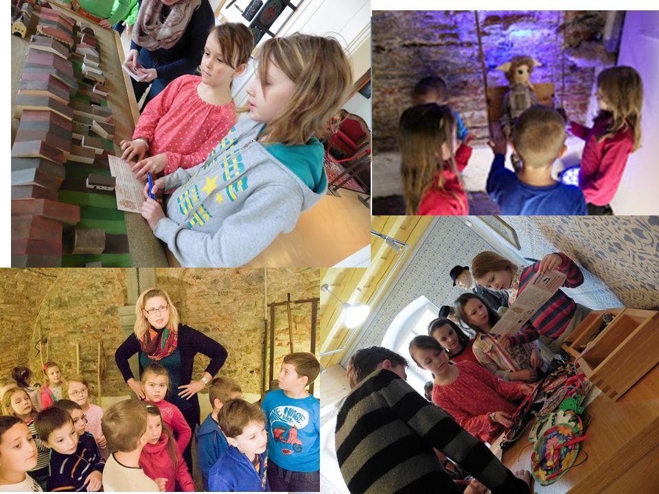 2) Tvůrčí díly – program pro děti ze školních družin Kulturně-vzdělávací projekty se skřítky Picmochy