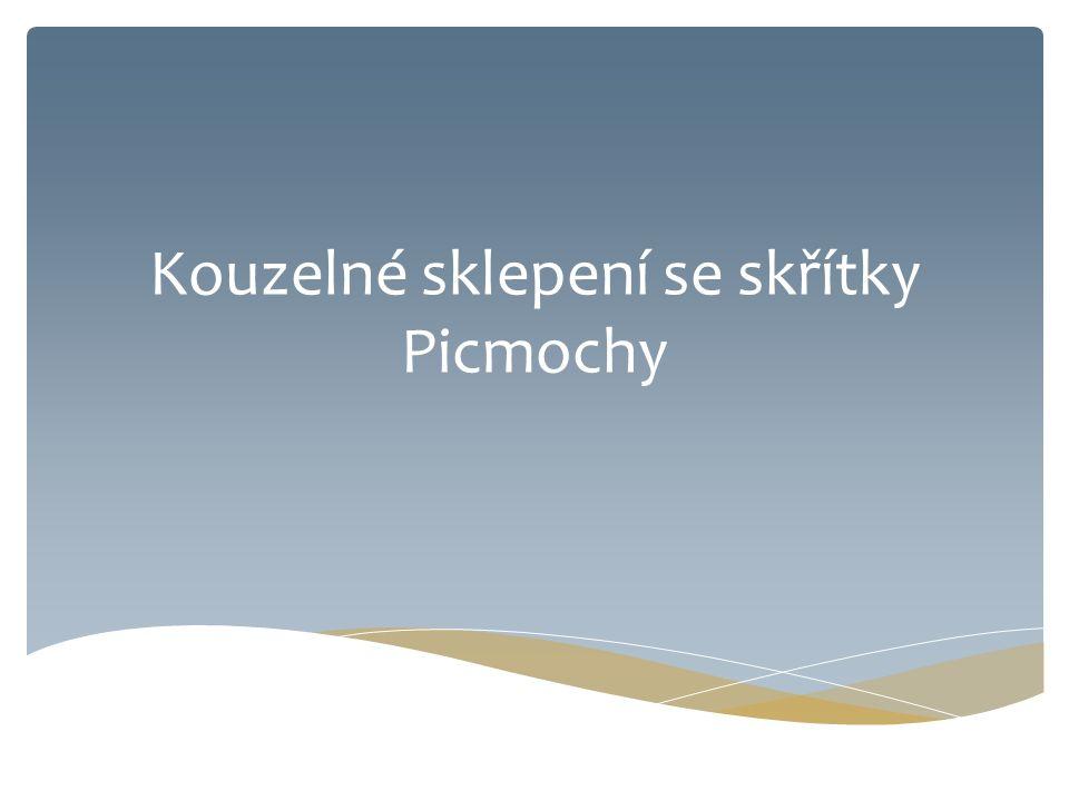 Kouzelné sklepení se skřítky Picmochy