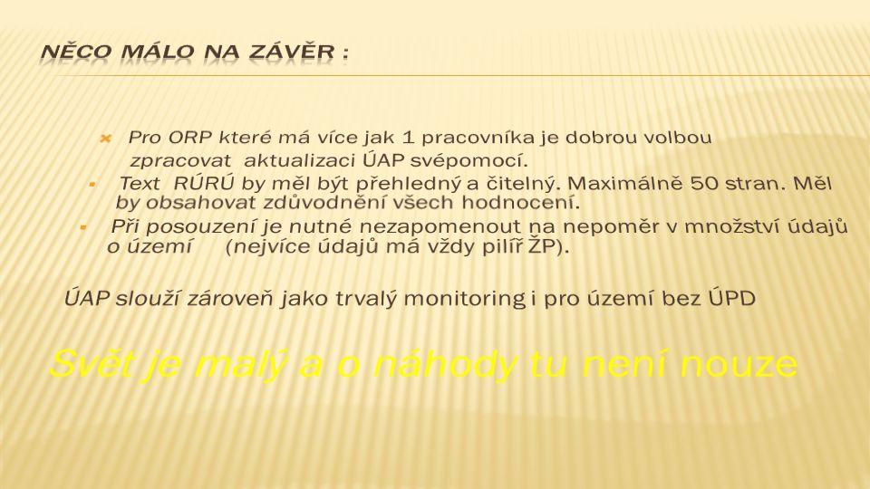 Odkaz na ÚAP ORP Veselí nad Moravou http://www.veseli-nad-moravou.cz/navrh-uplne-aktualizace-uzemne- analytickych-podkladu/d-585158/p1=59270 http://www.hsrs.cz/mapserv/veselinm_uap/index.php?project=uap&