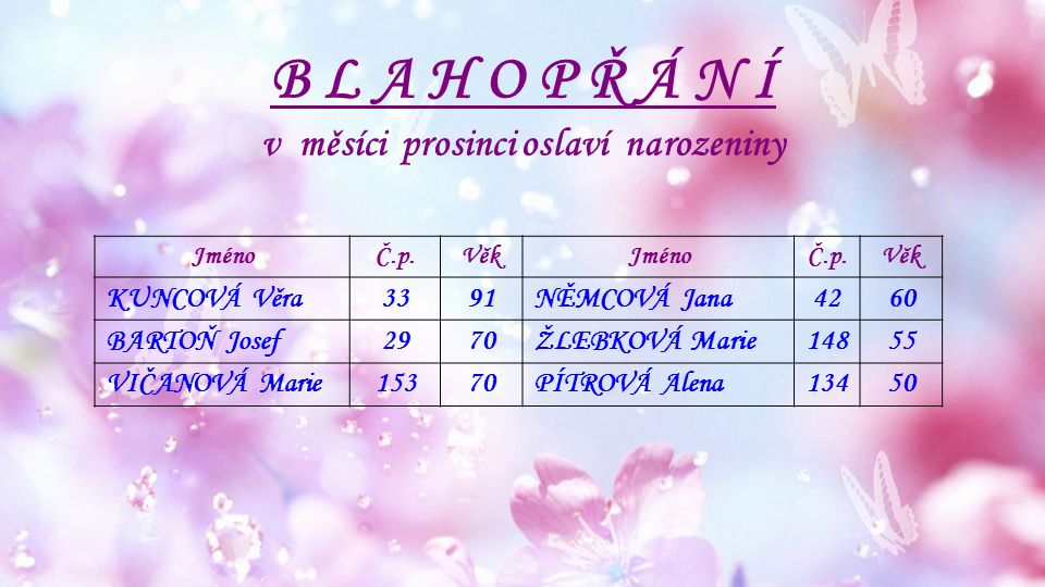 Dětské středisko Mořkov Provoz o vánocích 22.12.2015 - Mořkov - 8:00 - 10:00 hod.