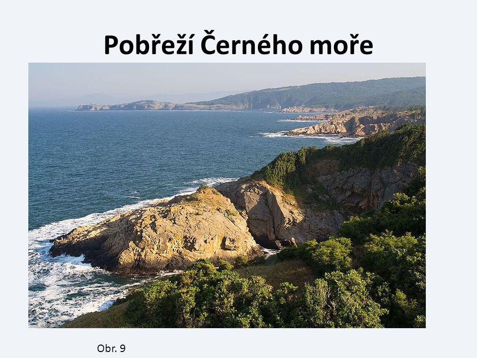 Pobřeží Černého moře Obr. 9