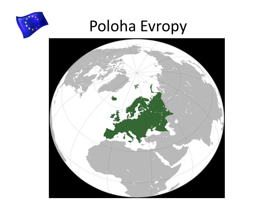 Poloha Evropy