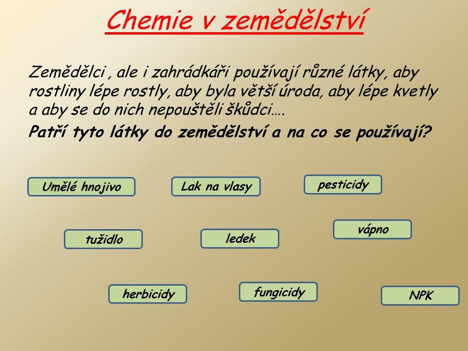Chemie v domácnosti - léky 1.Mohou nám léky uškodit.