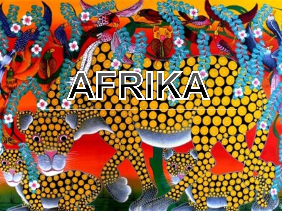 Africké umění zná především tři barvy: červená, bílá a černá.