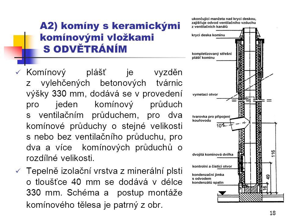 17 Komíny s keramickými komínovými vložkami – montáž (6/6)