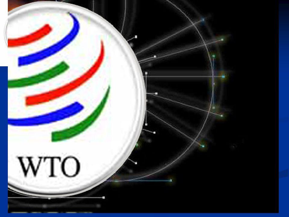 WTO Světová obchodní organizace (WTO) (World Trade Organization) je organizace, která zakládá pravidla mezinárodního obchodu prostřednictvím konsenzu mezi jeho členskými státy a řeší mezinárodní obchodní spory mezi členskými státy.