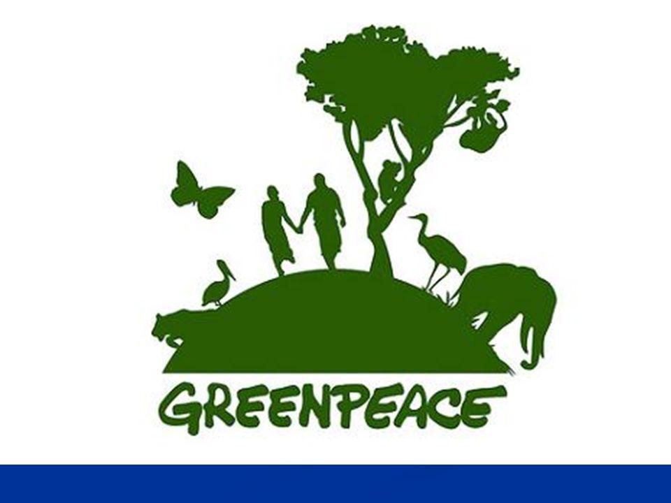 Greenpeace Je kontroverzní nevládní organizace pro ochranu a zachování životního prostředí.