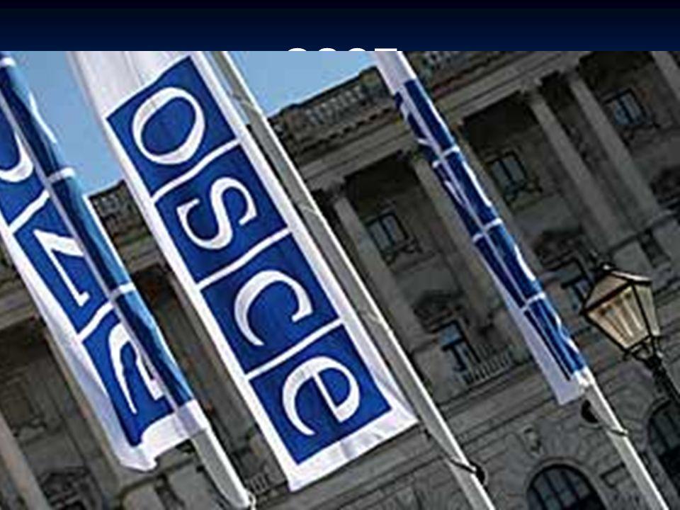 OSCE Organizace pro bezpečnost a spolupráci v Evropě (OBSE; anglicky Organization for Security and Cooperation in Europe, OSCE) je mezinárodní bezpečnostní organizace vzniklá roku 1995 transformací Konference o bezpečnosti a spolupráci v Evropě (KBSE, téžHelsinská konference).