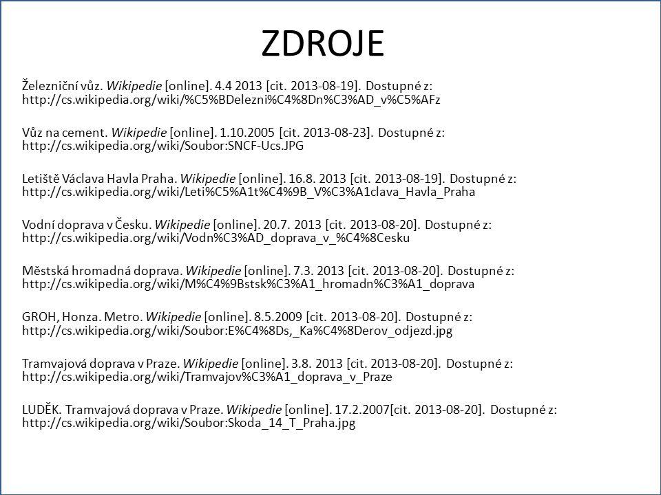 Železniční vůz. Wikipedie [online]. 4.4 2013 [cit.