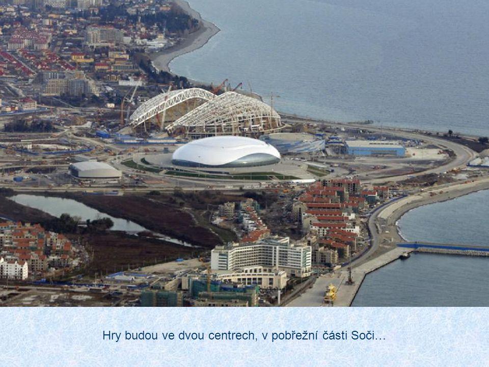 XXII. zimní olympijské hry se tady budou konat 7.