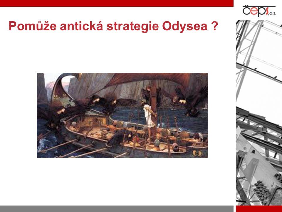 Pomůže antická strategie Odysea ?