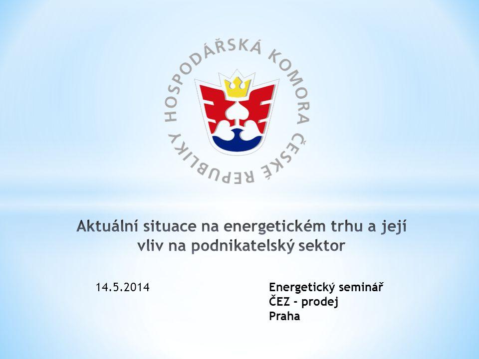 14.5.2014Energetický seminář ČEZ - prodej Praha