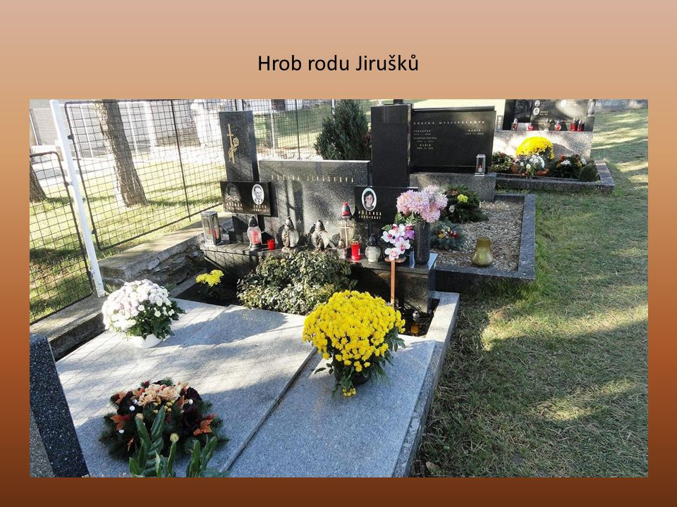 Hrob rodu Jirušků