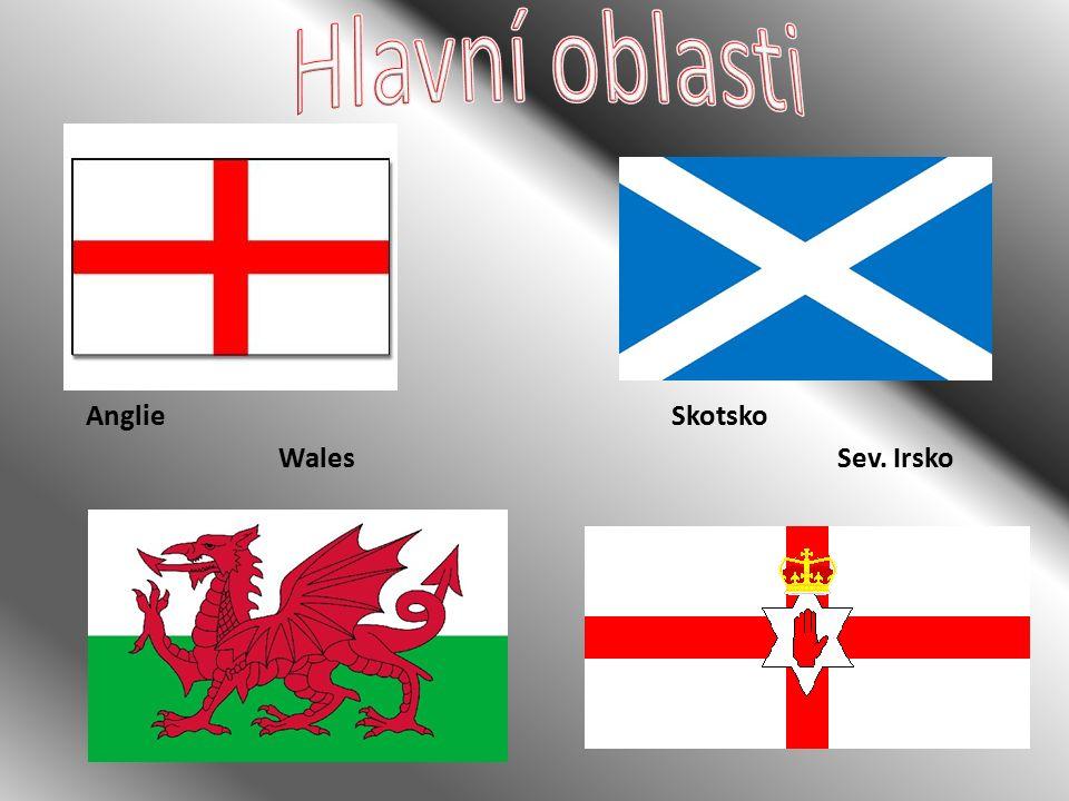 Anglie Sev. IrskoWales Skotsko