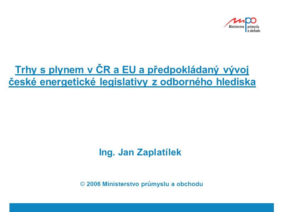  2004  Ministerstvo průmyslu a obchodu 2 Zákon č.