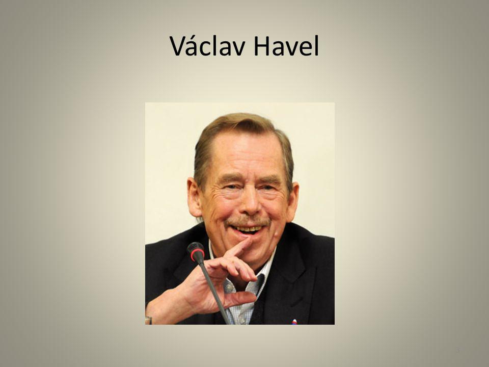 Václav Havel - život 17.listopadu 1989 začala rozehnáním studentské demonstrace tzv.