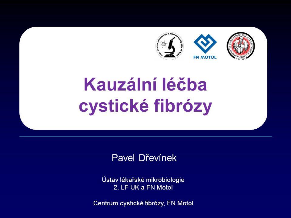 Kauzální léčba cystické fibrózy Pavel Dřevínek Ústav lékařské mikrobiologie 2.
