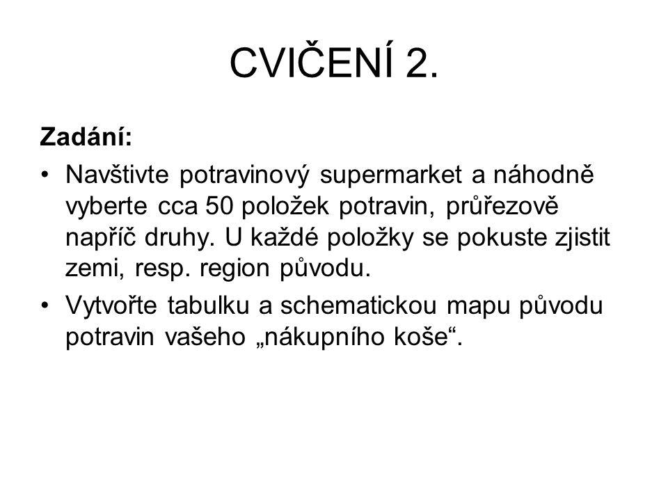 CVIČENÍ 2.