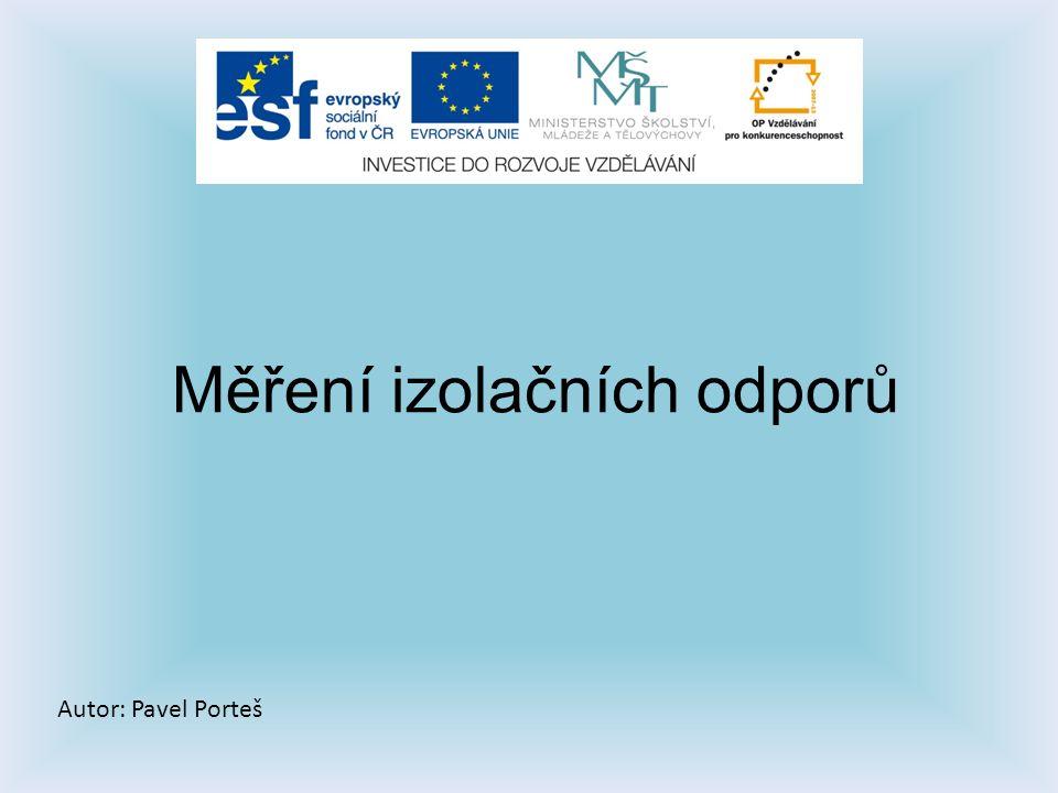 Zdroje: Dílenské příručka učebních oborů elektro- Josef Bohdal, Ing.
