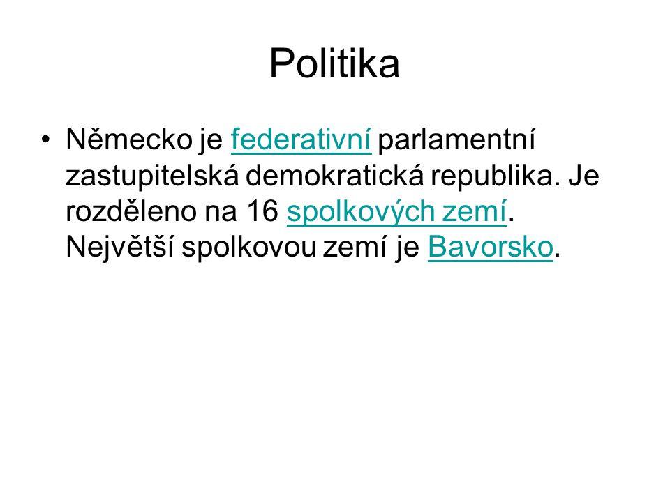 Politika Německo je federativní parlamentní zastupitelská demokratická republika.