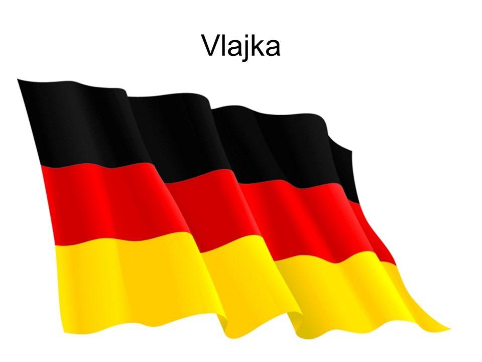 Vlajka Víš jak vypadá vlajka NDR. Nakresli ji na papír, vybarvi a zvedni na hlavu.