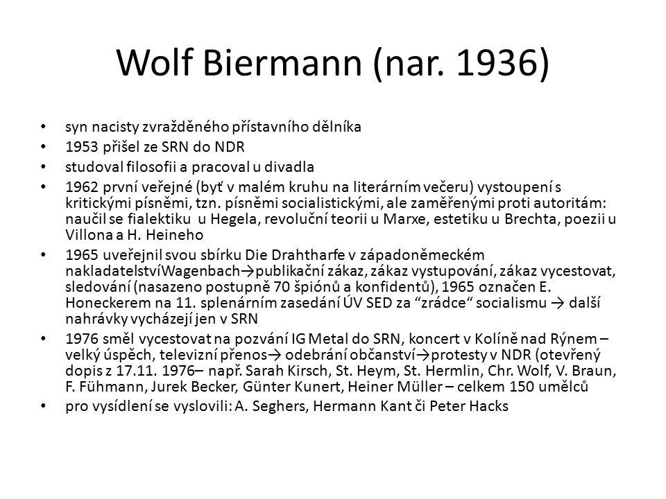 Wolf Biermann (nar.