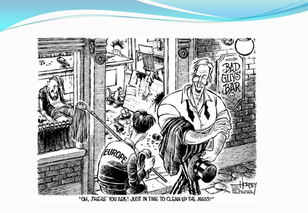 Struktura NATO Dualita politické a vojenské struktury: V čele politické struktury generální tajemník – Evropan V čele vojenské struktury Supreme Allied Commander Europe – SACEUR - Američan Philip M.