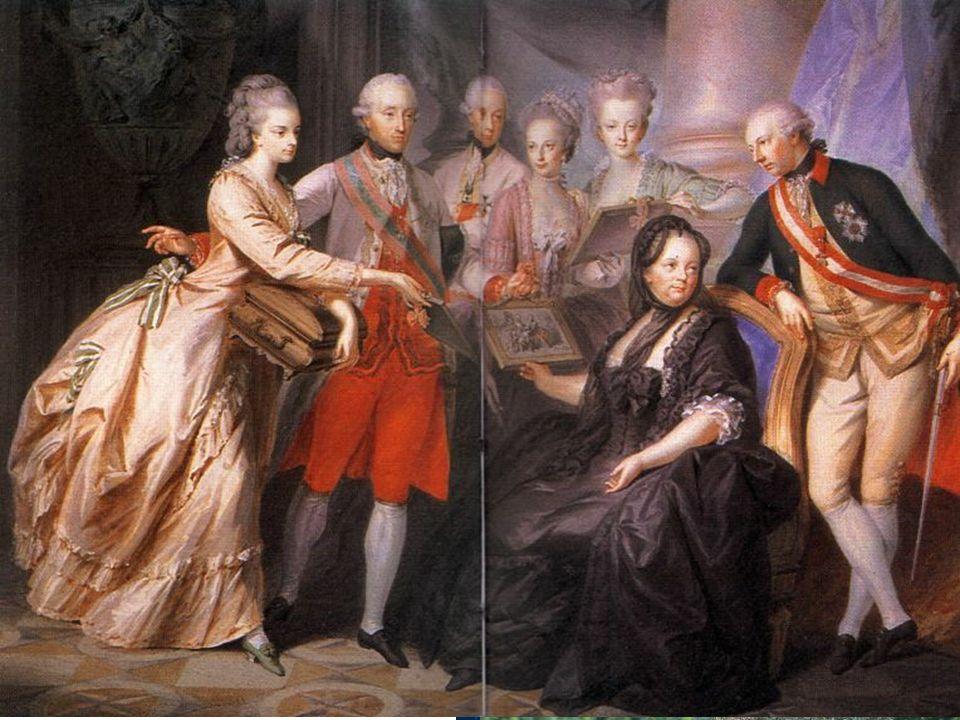 Rodina Josefa II.Josef II.