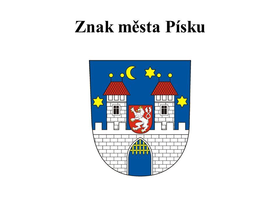 Znak města Písku