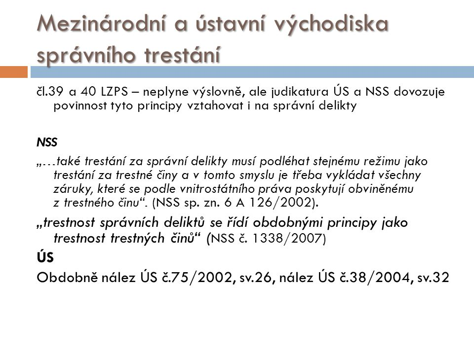 Mezinárodní a ústavní východiska  Mez.pakt o občanských a pol.