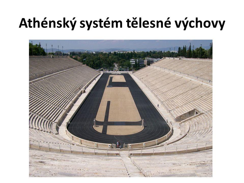 Athénský systém tělesné výchovy