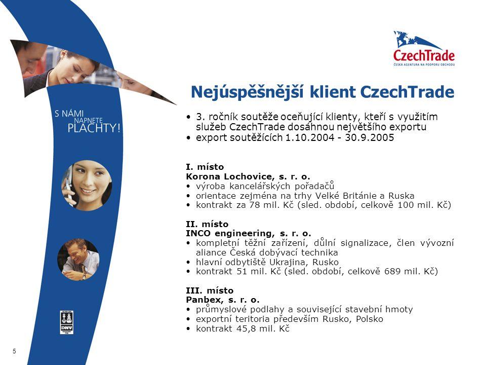 5 Nejúspěšnější klient CzechTrade 3.